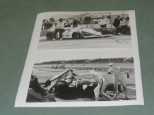 MARCH 84C Texaco Star, Tom Sneva, CART. Press photo sheet 1984 10x8""